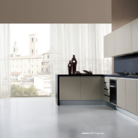 Amalfi Kitchen Design in Grigio Sakai finish