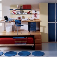 Blue Childrens Bedroom