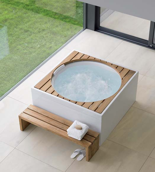 acrylic pools blue moon pool with acrylic panelling and wooden inserts