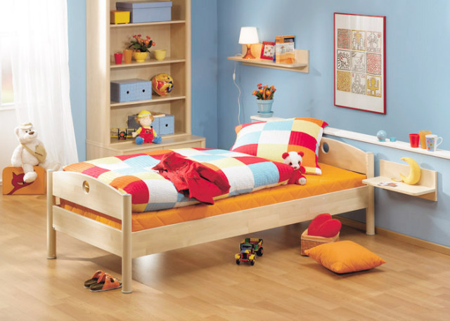 Blue Youngster's Room Fleximo with case furniture