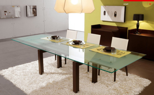 Brown - Yellow Dining Room