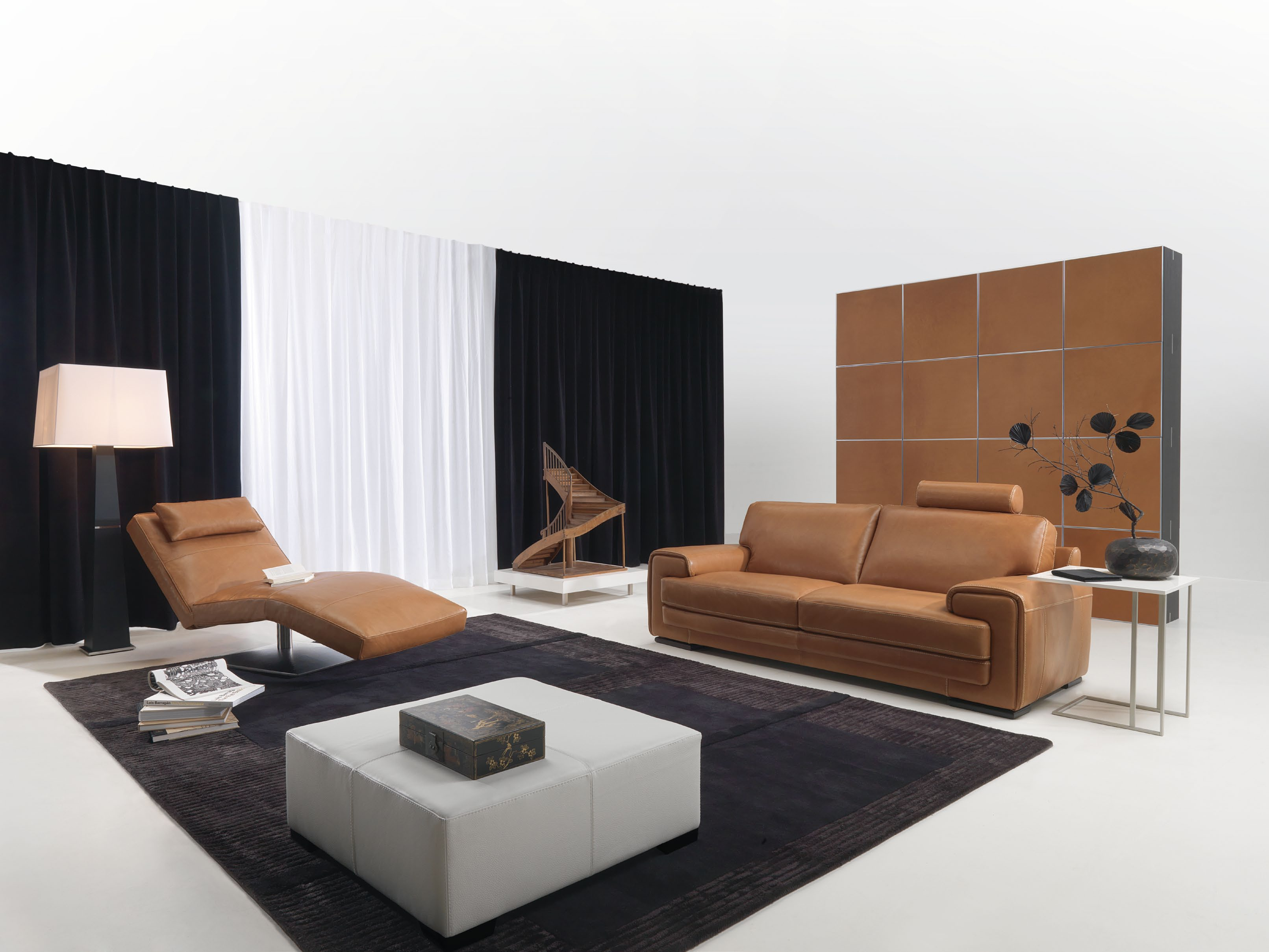 Brown n black living room concept for Room design concept