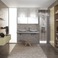 Destructed Atoll Modern Bathroom Design