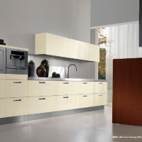 Erice Kitchen Design with Avorio Bombay doors