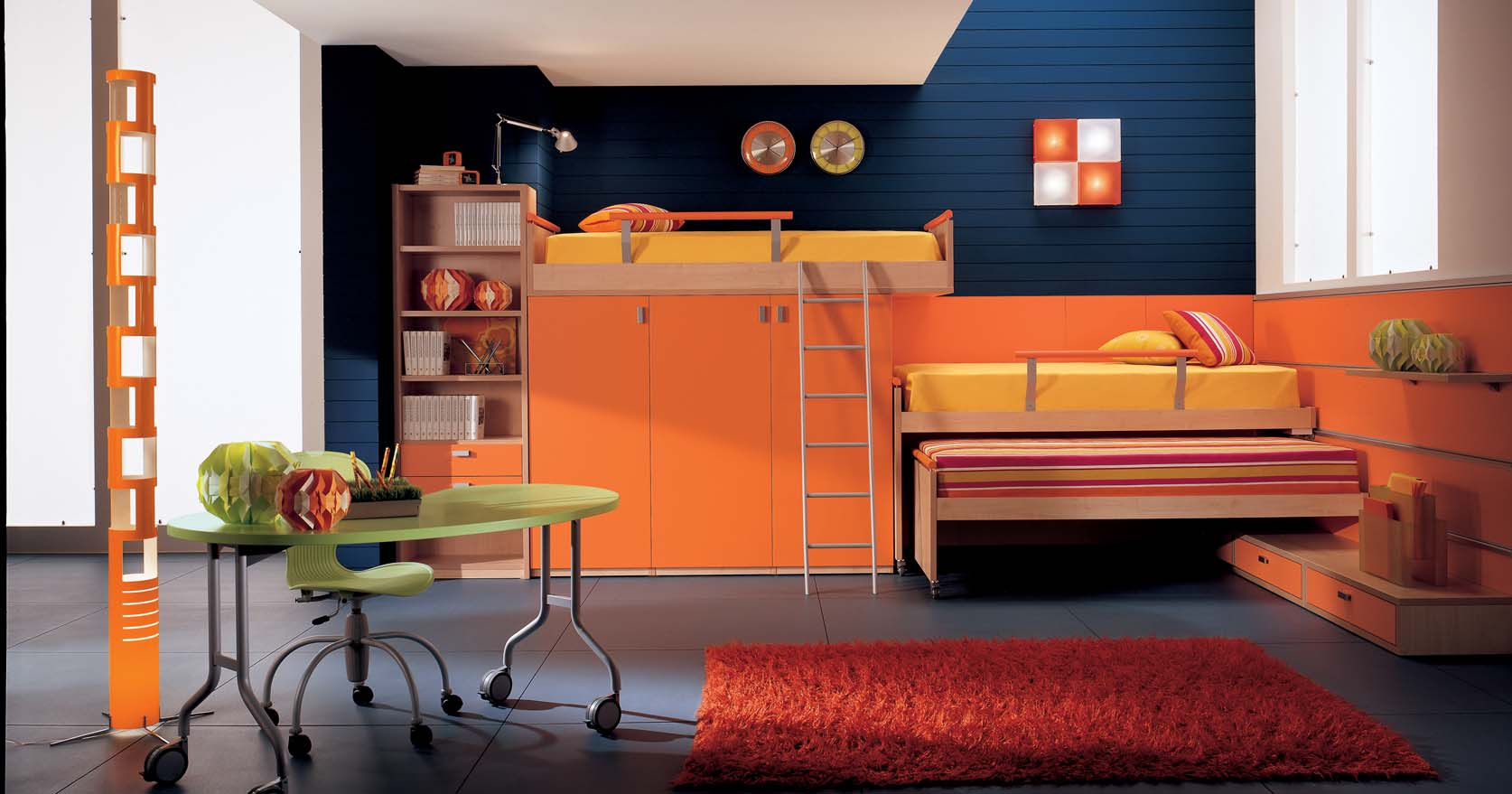 Magnificent Home » Kids Bedroom Design by BERLONI » Kids Bedroom Interior Design 1674 x 879 · 114 kB · jpeg