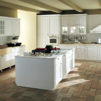 Lari Kitchen Design Bianco Japura