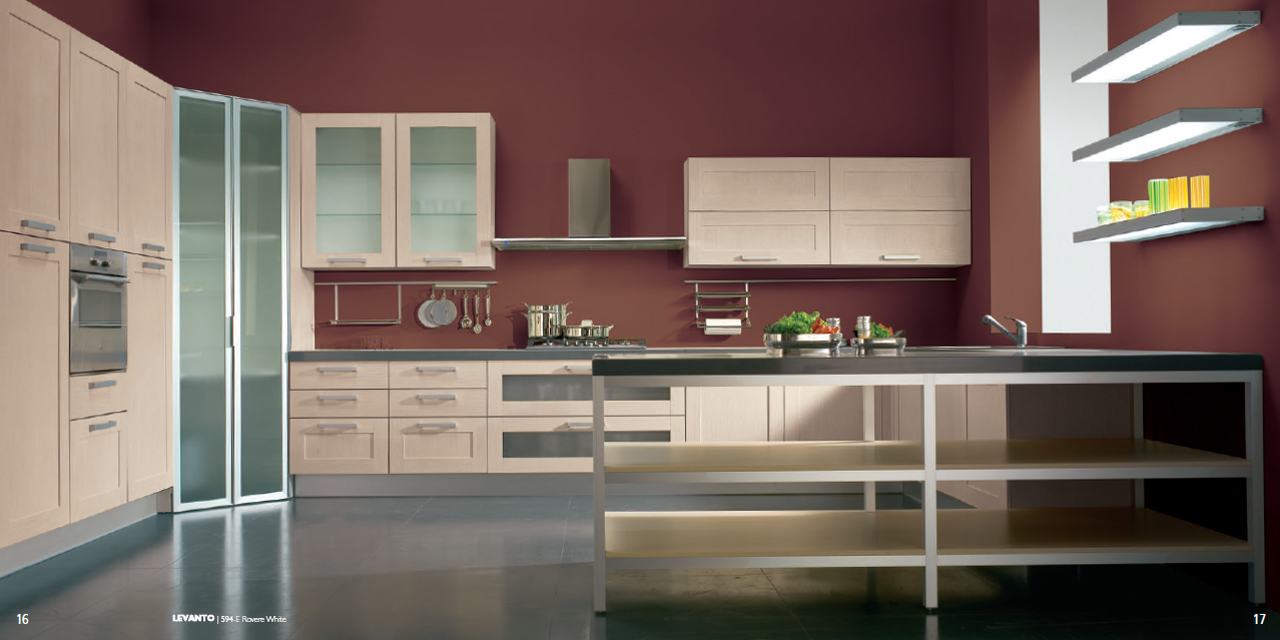 levanto kitchen design with advanced solutions for the rovere white finish composition   stylehomes net levanto kitchen design with advanced solutions for the rovere      rh   stylehomes net