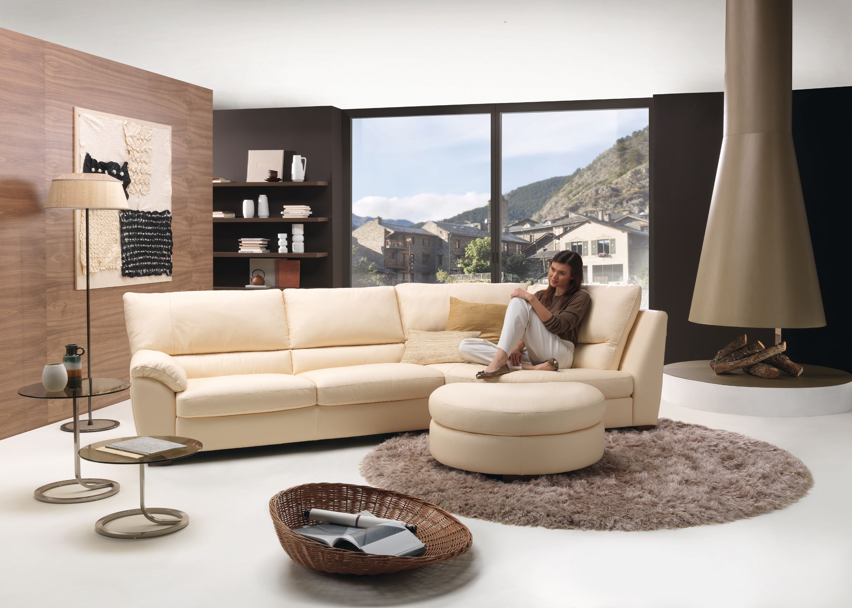Living room with modern klaus sofa for Klaus k living room