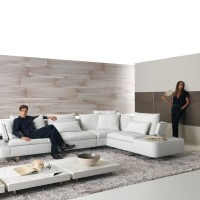 Living Room with Opus Sofa set