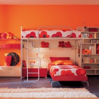 Kids Bedroom Design by BERLONI