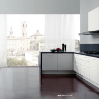 Rodi Kitchen Design in a Bianco Delhi finish