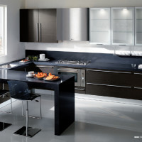 Rodi Kitchen Design with doors in a Rovere Grigioi finish