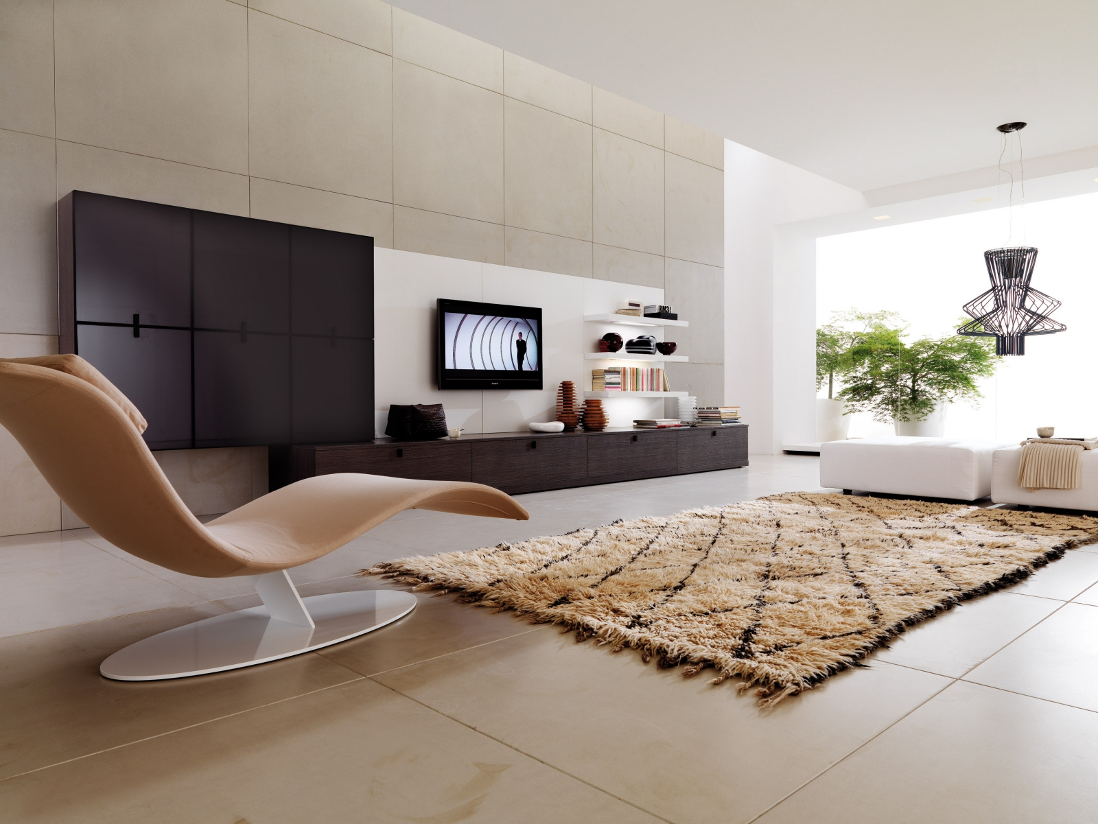 sophisticated living room - stylehomes