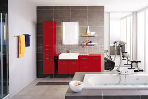 Space Saving Venti Modern Bathroom Design