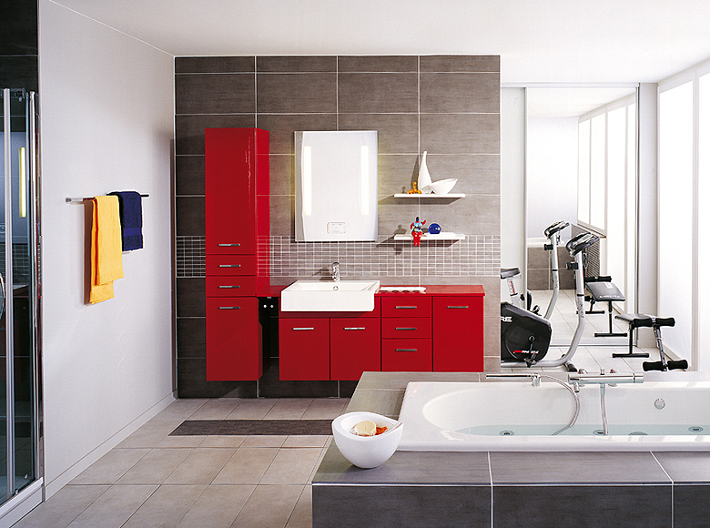 Astounding Cool Modern Bathroom Designs By Schmidt Bathroom Designs France Largest Home Design Picture Inspirations Pitcheantrous