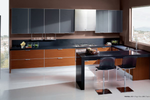 Tropea Kitchen Design with Teak Abaco finish