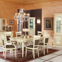 Venezia white Living Room Design
