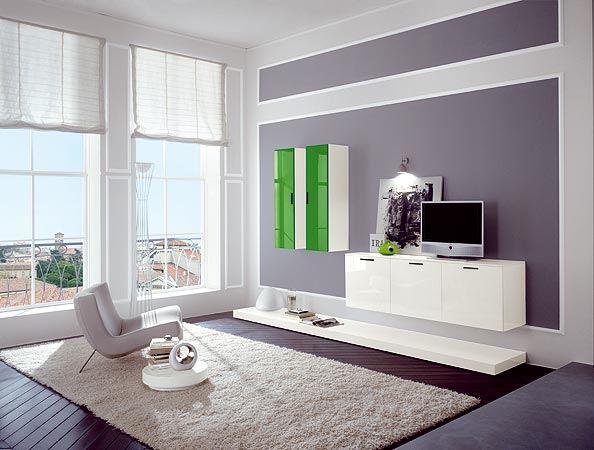 Wall box living room design for Interior design in a box
