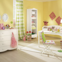 Youngster's Girl's Room Claire white-white with case furniture