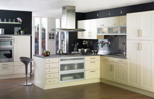 Buttermilk Prelude Modern Kitchen Design