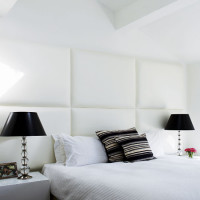 Cool Black and White Combination Bed
