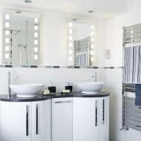 His and hers basins bathroom