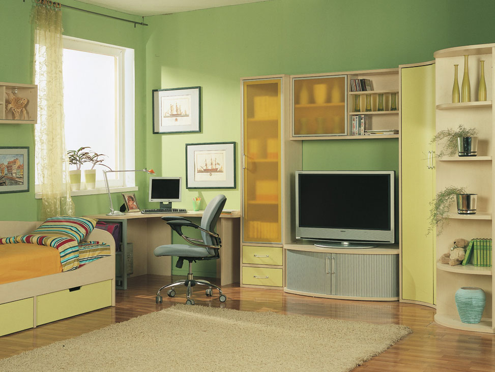Kids Room with Some Entertainment - StyleHomes.net