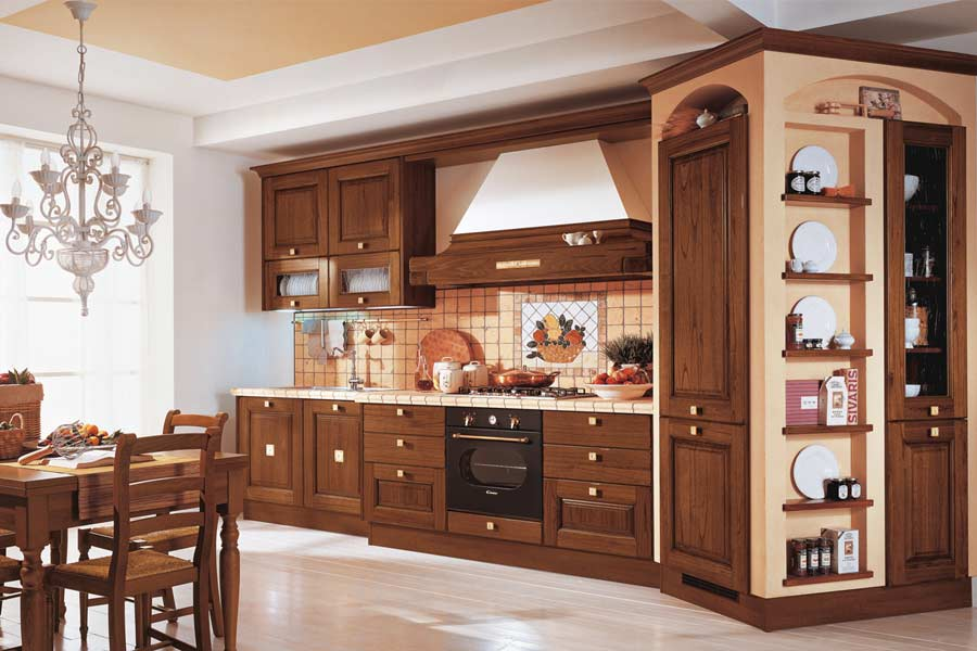 Laura classic kitchen design for Classic style kitchen ideas