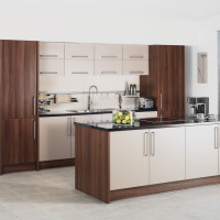 Metro Cappuccino Kitchen Design