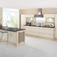 Metro Latte Kitchen Design