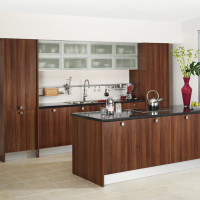 Metro Walnut Kitchen Design