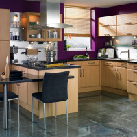 Moderna Beech Kitchen Design
