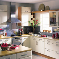 Moderna Buttermilk Matt Kitchen Design