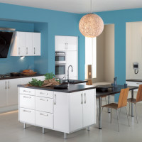 Moderna Gloss White Kitchen Design