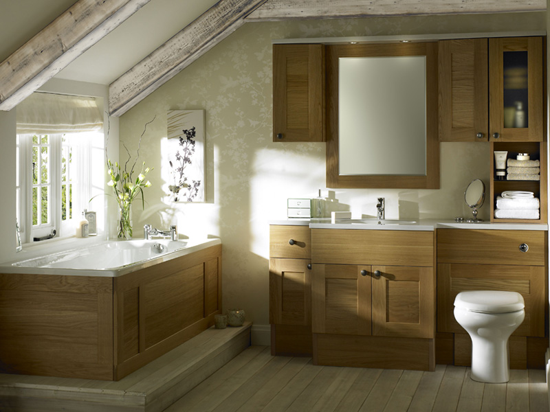 sargasso light oak bathroom design   stylehomes