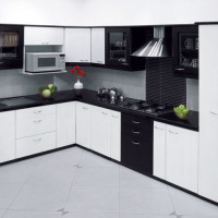 Soft and Sweet Vanila Kitchen Design