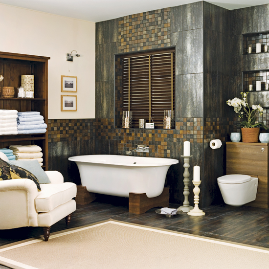Spa style bathroom Bathroom design spa look