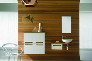 Strada Light Oak Bathroom Design