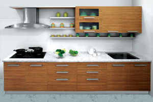 Tigress Wood Space Saving Kitchen Design
