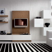 Wall Stripes Living Room