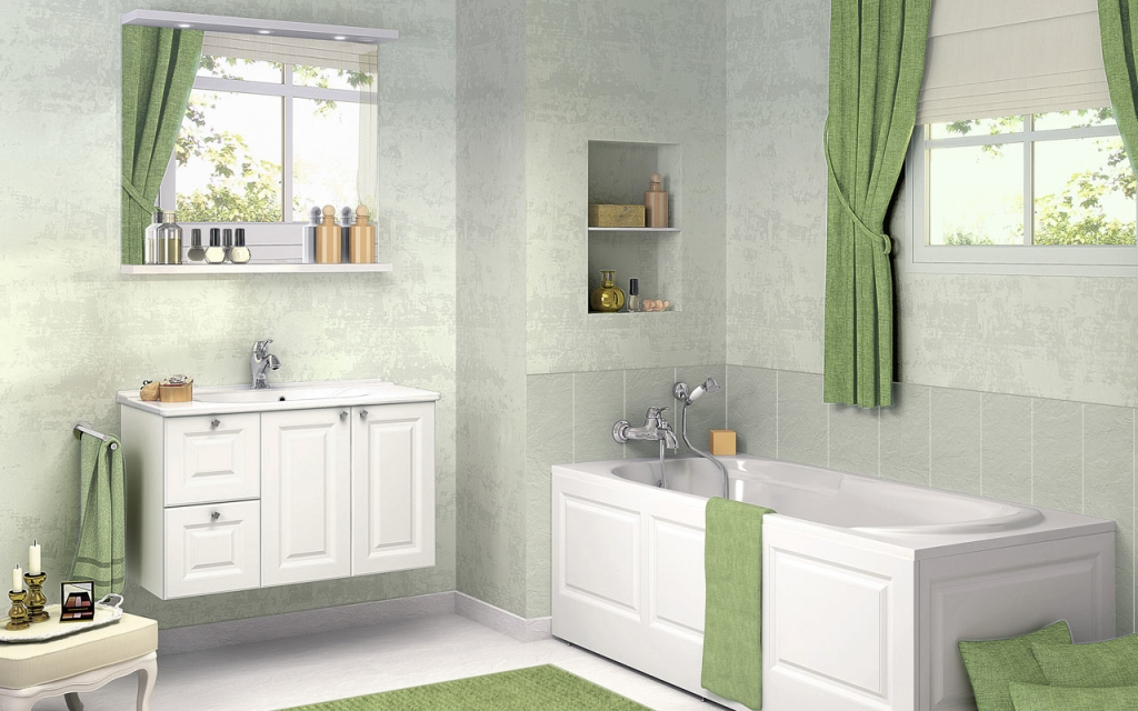 Small Bathroom Color Scheme Ideas