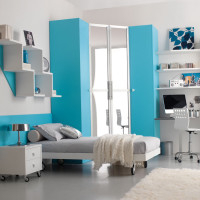 Blue Teen Bedroom Ideas