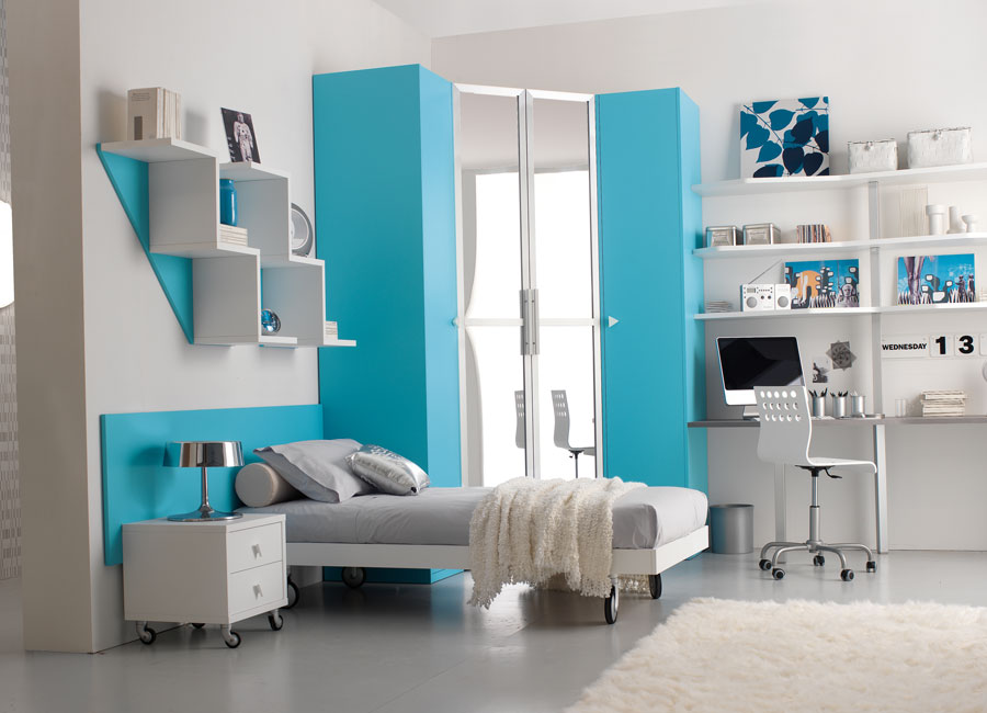 Stunning Blue Teenage Girl Bedroom Ideas 900 x 650 · 78 kB · jpeg
