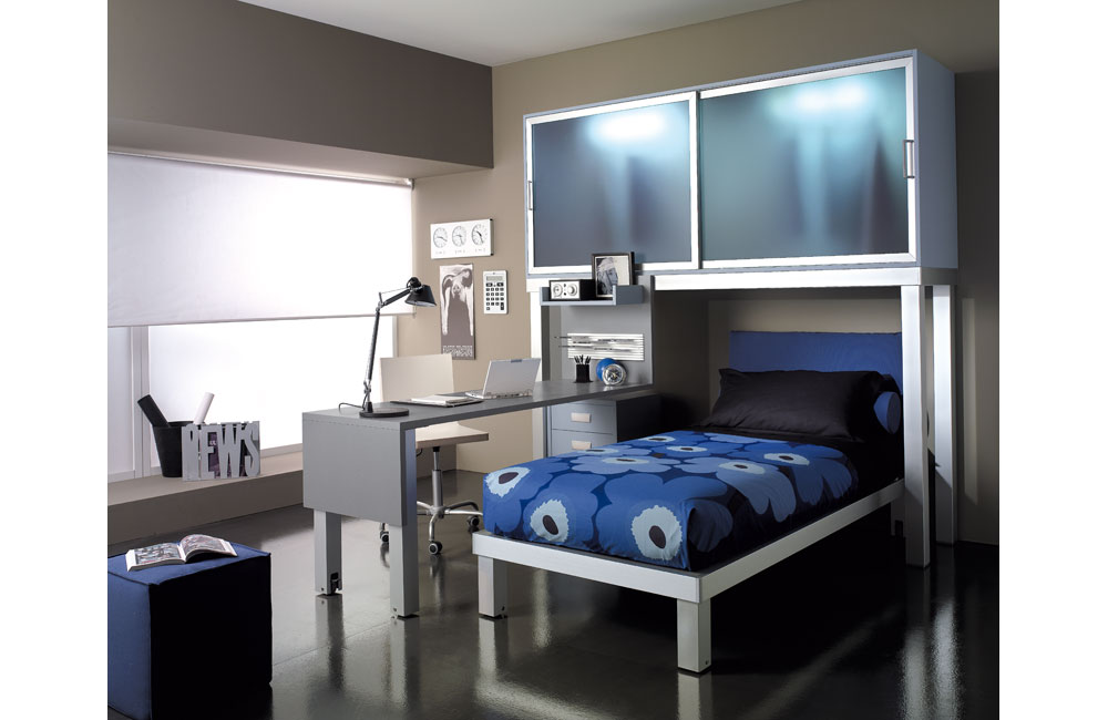 gray and blue bedroom ideas images