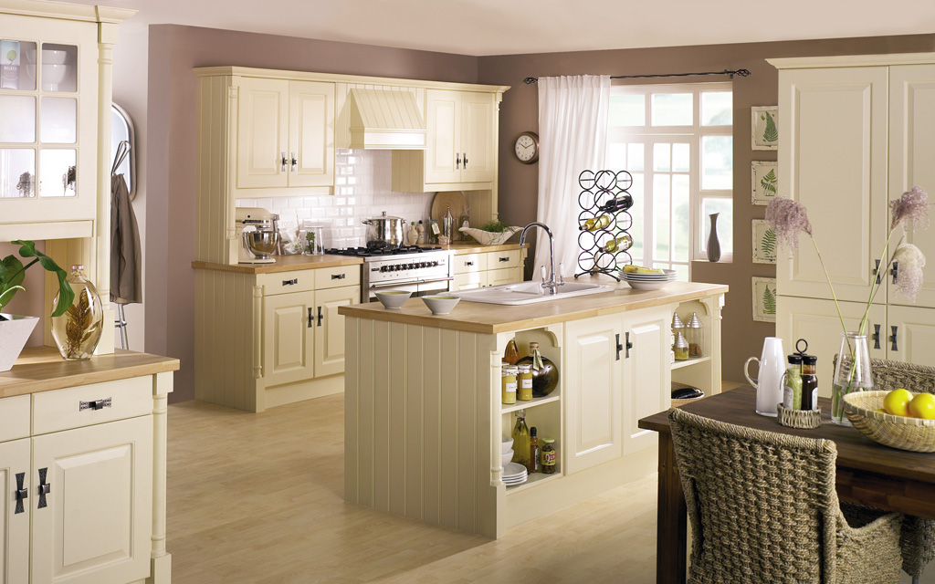 Charter House Traditional Kitchen StyleHomesnet