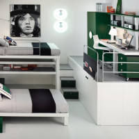 Compact Teen Bedroom