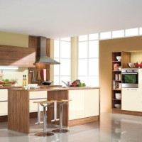 Cream - Brown Kitchen Decor Ideas