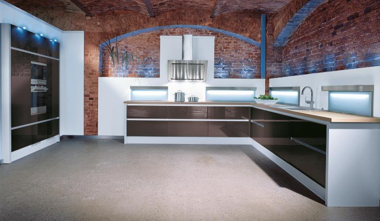 Kitchen Brick Wall Style - StyleHomes.