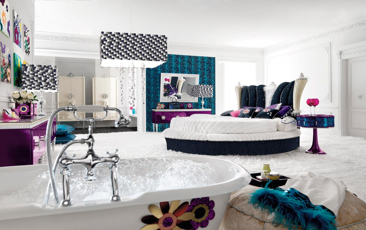 luxurious teen bedroom design stylehomesnet - Luxury Teen Bedroom