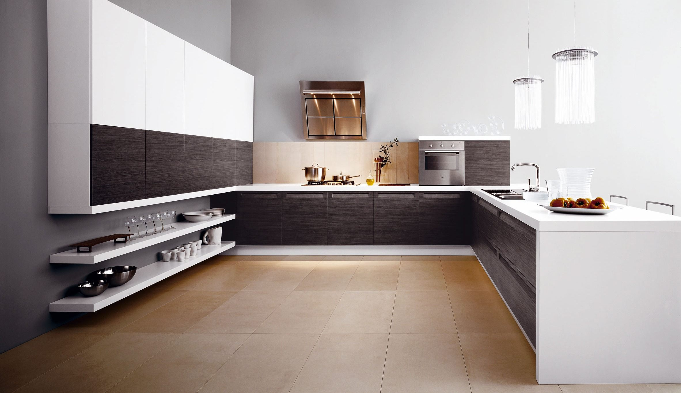 Home Modern Italian Kitchen Designs From Cesar Modern Simple And